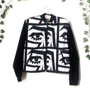 American Apparel X KESH   Eye Jacket